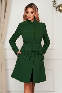 Palton Artista verde