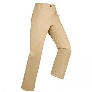 Pantaloni schi ieftini crem